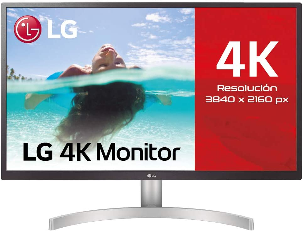 LG 27UL500-W Monitor Gamer 4k