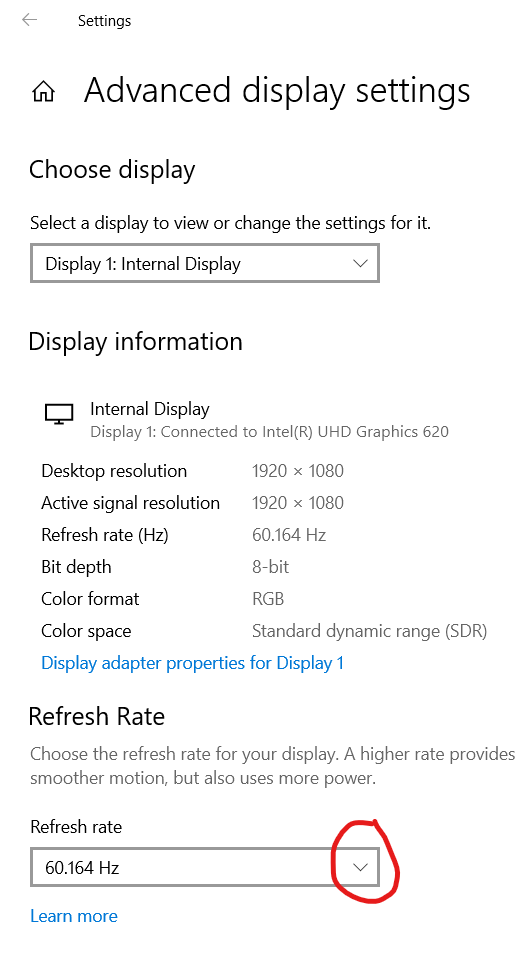 Configurar Monitor de 60hz a 144hz